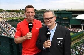 Sky Deutschland: Spiel, Satz, Sieg: Sky sendet 350 Stunden live aus Wimbledon