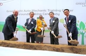 KIA Motors Deutschland GmbH: Kia Motors unterstützt Aufbau kommunaler Ausbildungszentren für Automechaniker in Äthiopien und Kenia