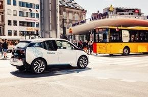 BMW Group: Vierhundert BMW i3 für vernetzte Mobilität in Kopenhagen / BMW i unterstützt die Verbesserung der Lebensqualität in Städten / DriveNow mit dem BMW i3 in Kürze auch in Kopenhagen