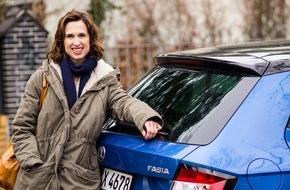 Skoda Auto Deutschland GmbH: Ein starkes Team: SKODA und Tanya Neufeldt