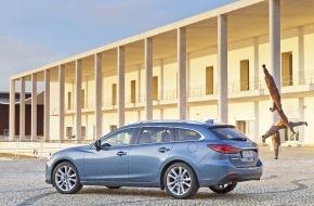 """Mazda (Suisse) SA: Mazda6 massgeschneidert für Firmenflotten / """"Business""""- Ausstattungslinie für Geschäftskunden"""
