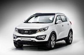 KIA Motors Deutschland GmbH: Exklusives Sondermodell des Kia Sportage*