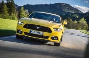 Ford-Werke GmbH: Der neue Ford Mustang: Bereits mehr als 10.000 Bestellungen in Europa, davon knapp 4.000 in Deutschland
