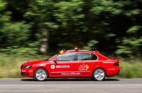 Skoda Auto Deutschland GmbH: SKODA zum elften Mal Sponsor der Tour de France