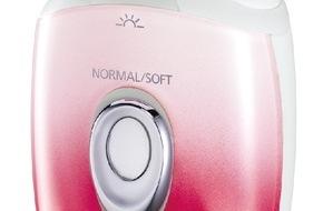 Panasonic Deutschland: Der 6in1 Nass-/Trocken-Epilierer ES-ED92 Wet/Dry / Für perfekt geschmeidig glatte Haut bis zu den Zehenspitzen
