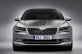 Skoda Auto Deutschland GmbH: Wertanlage: Neuer SKODA Superb verspricht beste Restwerte