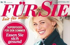 """Jahreszeiten Verlag, FÜR SIE: FÜR SIE-Exklusiv-Umfrage* ergibt: """"37 Prozent der Deutschen finden, dass Eltern ihre Kinder nicht überall mit hinnehmen sollten"""""""