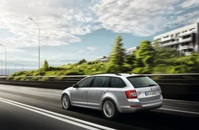 Skoda Auto Deutschland GmbH: Ab 19.980 Euro: Umfangreich ausgestattetes Sondermodell SKODA Octavia Combi Solution