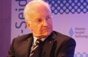 Hanns-Seidel-Stiftung: Bürokratieabbau in der Europäischen Union - Bilanz und Auftrag / Vortrag und Diskussion mit Edmund Stoiber und Johannes Ludewig