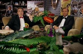 Tele 5: Killer-Carnivoren und monströse Rüpel-Reptilien der Gefahrenklasse Uno!