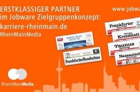 Jobware Online-Service GmbH: RheinMainMedia und Jobware kooperieren / Mehr Power für den Stellenmarkt im Rhein-Main-Gebiet