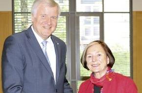 Hanns-Seidel-Stiftung: Ursula Männle neue Vorsitzende der Hanns-Seidel-Stiftung / Mitgliederversammlung wählt Führungsspitze