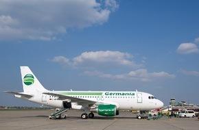 alltours flugreisen gmbh: alltours stationiert in Dortmund zusätzliche Germania-Maschine für Mallorca / Balearen-Nachfrage für Sommer 2015 steigt und steigt... (FOTO)