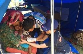 Malteser Hilfsdienst e.V.: Nepal: Weitere Tote und Verletzte zu erwarten /  Malteser richten Feld-Krankenhaus in Erdbebenregion ein