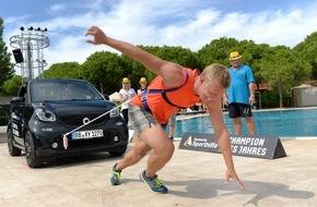Stiftung Deutsche Sporthilfe: CHAMPION DES JAHRES 2015 - Bild des Tages