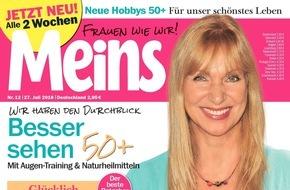 """Bauer Media Group, Meins: Sabine Kaack (57) in Meins: """"Ich träume von einer Alters-WG mit meinen Freundinnen"""""""