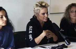"RTL II: ""Die VICE Reports"": Pamela Anderson im Kampf gegen den Walfang auf den Färöer-Inseln"