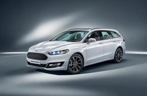 Ford-Werke GmbH: Ford Vignale-Modellfamilie: Premium-Komfort und First-Class-Service für preisbewusste Business-Kunden