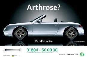 Deutsche Rheuma Liga Bundesverband e.V.: Welt-Rheuma-Tag 12.10.2008 / Deutsche Rheuma-Liga befragt Arthrosekranke im Internet
