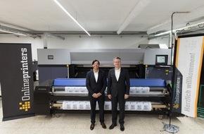 Onlineprinters GmbH: Onlineprinters eröffnet neuen Produktionsstandort für Großformatdrucke 1.800 Quadratmeter für Großformatdruck und Verwaltung