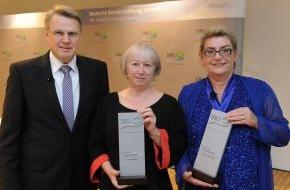 """Deutsche Bundesstiftung Umwelt (DBU): """"Power-Frauen"""" für """"Frauen-Power"""" mit Deutschem Umweltpreis geehrt"""
