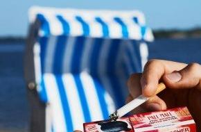"""British American Tobacco (Germany) GmbH: Aktion """"Sauberer Strand"""": Für eine kippenfreie Küste an Nord- und Ostsee (mit Bild)"""