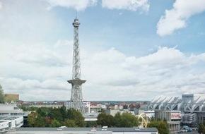 Messe Berlin GmbH: Berliner Funkturm schließt ab dem 13. Juli wegen Wartungsarbeiten und IFA-Events (FOTO)