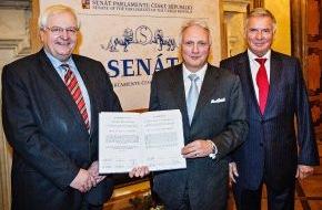 Skoda Auto Deutschland GmbH: Preis der deutsch-tschechischen Verständigung für den SKODA Vorstandsvorsitzenden