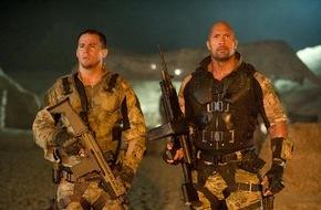 """ProSieben Television GmbH: G.I. Joe rockt: Dwayne """"The Rock"""" Johnson und Bruce Willis verstärken """"G.I. Joe 2"""""""