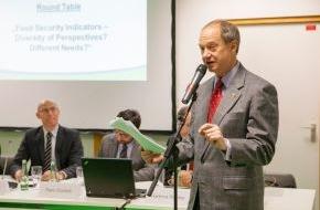 Fördergemeinschaft Nachhaltige Landwirtschaft: US-Botschafter John B. Emerson sieht Innovationen als Schlüssel zur Steigerung der Produktivität der globalen Landwirtschaft