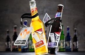 Brauerei C. & A. Veltins GmbH: Jahresaktion bringt zehn Künstler auf V+Etiketten: Mach Sachen! Mit V+Musikstars exklusiv und hautnah erleben