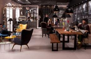 KARE Design GmbH: IMM Köln Wohntrend 2013: Cosy Living im Industrial Loft