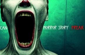 "sixx GmbH: Der Eintritt kostet den Verstand: sixx öffnet die Tore zu ""American Horror Story: Freak Show"" am 1. April 2016"