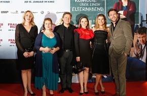 Constantin Film: Sönke Wortmanns neue Komödie FRAU MÜLLER MUSS WEG feiert Premiere in Köln