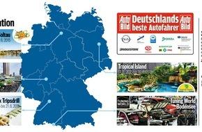 """AUTO BILD: """"Deutschlands beste Autofahrer"""" gehen in Friedrichshafen an den Start"""