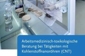 """Bundesanstalt für Arbeitsschutz und Arbeitsmedizin: Mit """"BAuA-Praxis"""" zum Umgang mit Carbon Nanotubes beraten / Sicheres Arbeiten mit Nanomaterialien"""