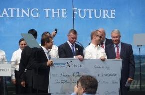 PERAVES: Clean Mobility - PERAVES X-TRACER nach Sieg mit phänomenalem Verbrauchswert von 1,14 l/100km - erfolgreich auf US-Tournee