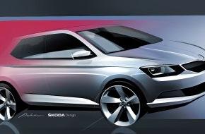 Skoda Auto Deutschland GmbH: Der neue SKODA Fabia - neues, modernes Design für ein junges Automobil