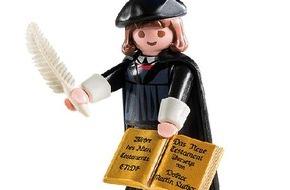 Congress- und Tourismus-Zentrale Nürnberg: Reformations-Botschafter im Miniaturformat - Martin Luther als Spielfigur