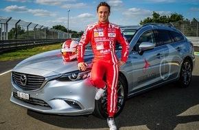 Mazda (Suisse) SA: Mazda am Le Mans mit Mathias Beche