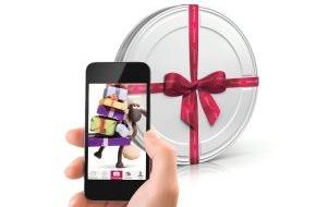 """CinemaxX Holdings GmbH: Weihnachts-Tipp: Augmented Reality erweckt CinemaxX Gutschein-Geschenkbox zum Leben / Geschenkbox per PosterCam abscannen und Videobotschaft von """"Shaun das Schaf"""" entdecken"""