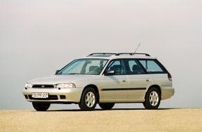 Subaru: 25 Jahre Subaru Legacy und Outback: Stille Stars und sensationelle Rekordjäger