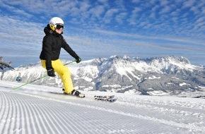 SkiWelt Wilder Kaiser-Brixental Marketing GmbH: Früher Winterbeginn: SkiWelt Ellmau u. Scheffau starten am 30.11. in die Skisaison
