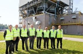 Swissgas AG: Belgischer Energieminister besucht Transitgas-Anlagen