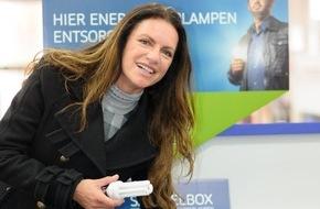 Lightcycle Retourlogistik und Service GmbH: Christine Neubauer weiß Bescheid: Ausgediente Lampen gehören nicht in den Hausmüll
