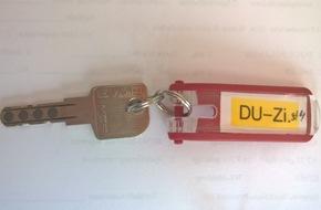 Polizeiinspektion Northeim/Osterode: POL-NOM: Wem gehört der Schlüssel - Polizei bittet um Hinweise -