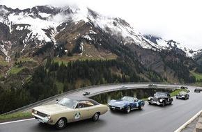 AUTO BILD: 5. Bodensee-Klassik 2016: Für die Oldtimer geht's hoch hinaus