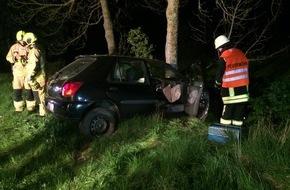 Feuerwehr Stolberg: FW-Stolberg: Schwerer Verkehrsunfall auf der Landesstraße 12 zwischen Gressenich und Mausbach