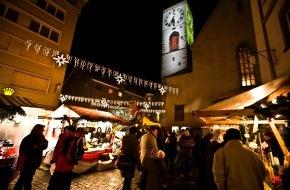 Chur Tourismus / Coire Tourisme: Avec son nouveau «Christkindlimarkt», Coire sera un pôle d'attraction pendant toute la période de l'avent