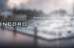 CONCORD: Einladung zur Besichtigung der neuen CONCORD Mariner-Kollektion auf der Baselworld 2014